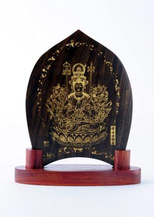 仏像/千手観音 - みほとけ護符(540-009)