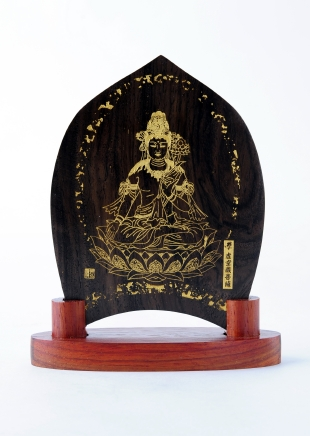仏像/虚空蔵菩薩 - みほとけ護符(540-010)