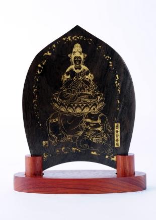 仏像/普賢菩薩 - みほとけ護符(540-012)