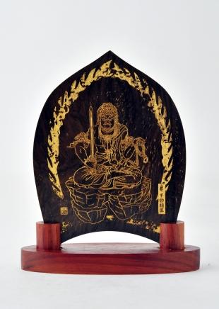 仏像/不動明王 - みほとけ護符(540-015)