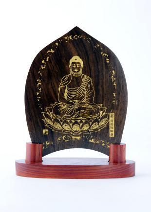仏像/阿弥陀如来 - みほとけ護符(540-016)