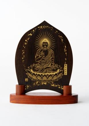 仏像/釈迦如来 - みほとけ護符(620-009)