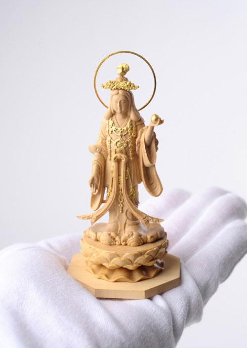 800-097の説明〜国宝模像の極小仏「吉祥天」