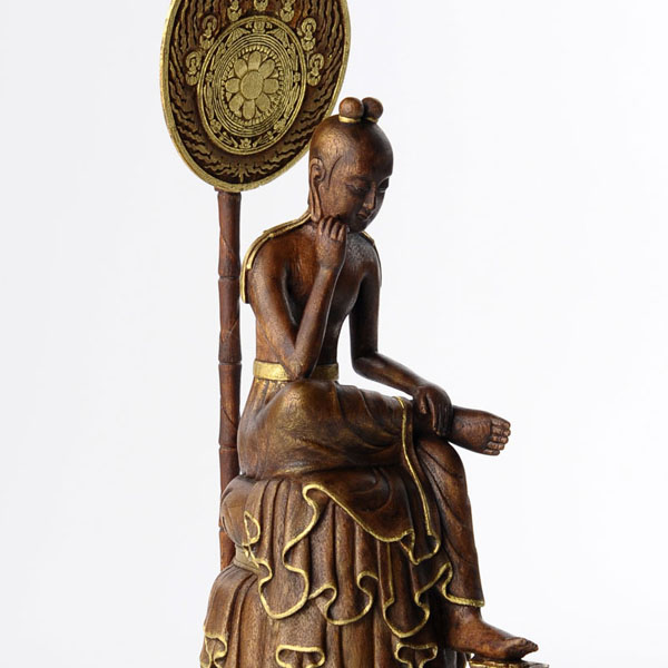 仏像】リアル仏像 菩薩半跏像 | ...