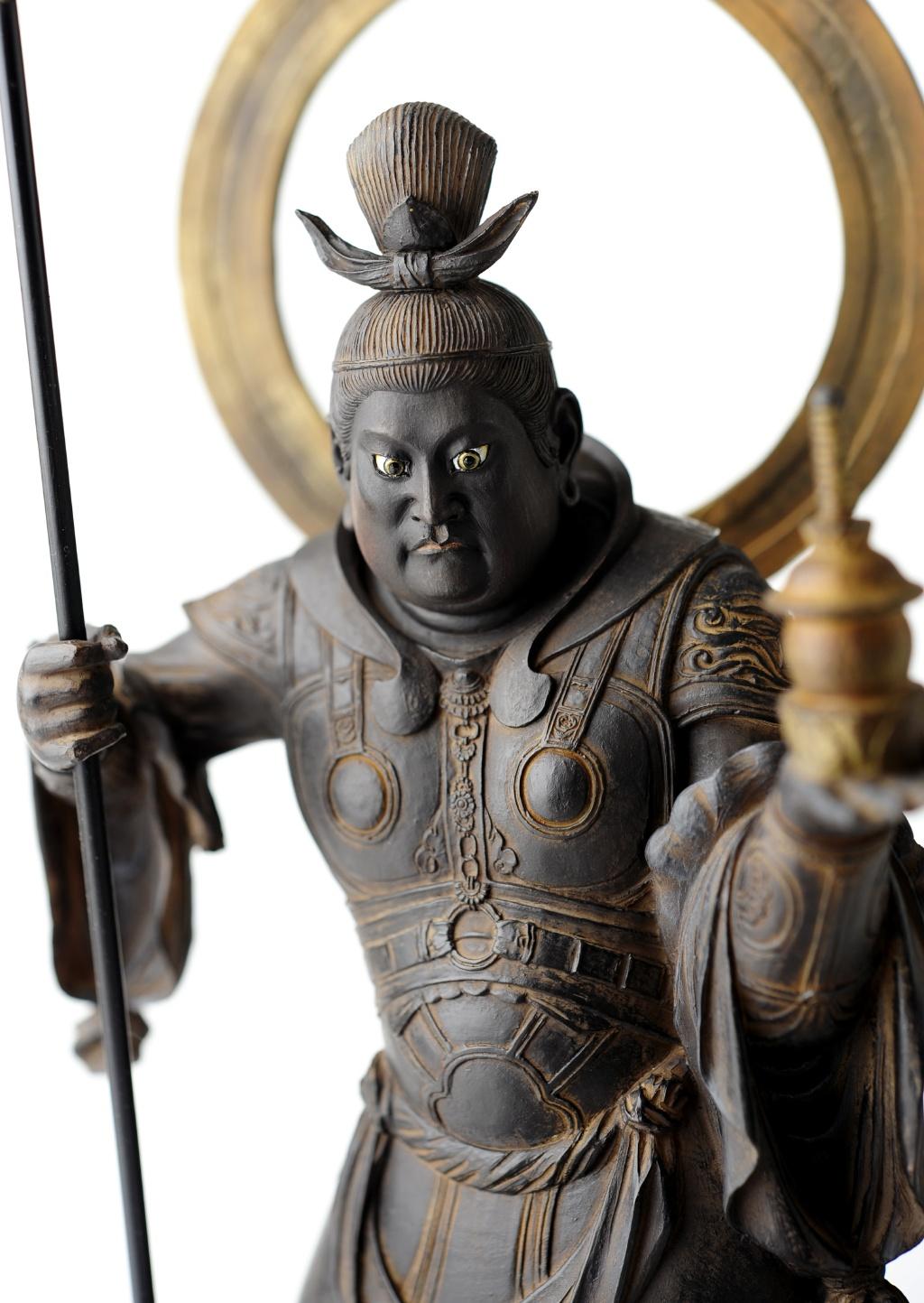 仏像】イスム 毘沙門天 | 仏像フ...