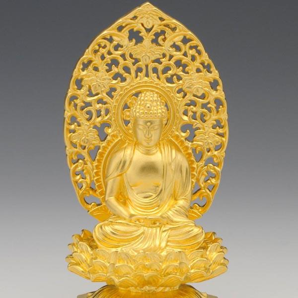 仏像】阿弥陀如来 - 純金製 総高10cm | 日本の手技,純金製御仏像 ...